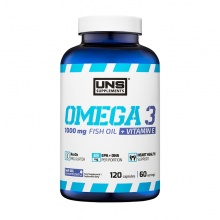 Антиоксидант UNS Supplements Omega 3  120 капсул